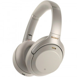 Casti Over the ear Sony WH1000XM3S.CE7, Wireless, Bluetooth, Noise cancelling, Argintiu