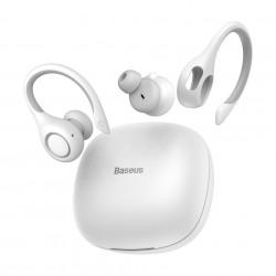 Casti wireless Baseus Encok W17, bluetooth 5.0 - alb