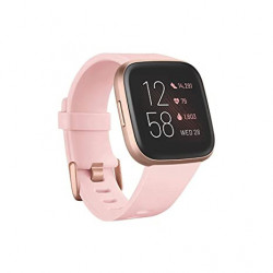 Ceas smartwatch Fitbit Versa 2, NFC, Petal/Copper Rose