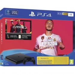 Consola Sony PlayStation 4 1TB + joc FIFA20 + Voucher FUTpoints + Voucher PlayStation Plus 14 zile