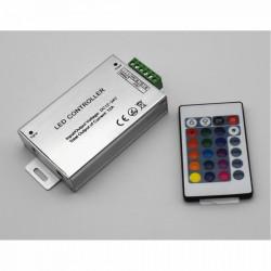 Controller banda LED RGB, 12V, 144W, telecomanda IR 24 taste