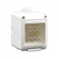 Cutie pentru montaj aparent Still cu capac, 3 module, IP55 - MF0012-04879
