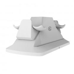 Dock pentru incarcare GameSir Dual Controller  pentru PS4 / PS4 Slim / PS4 Pro , alb