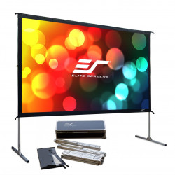 Ecran proiectie, de podea, 398.5 x 224.2 cm, EliteScreens QuickStand Q180H1, Format 16:9