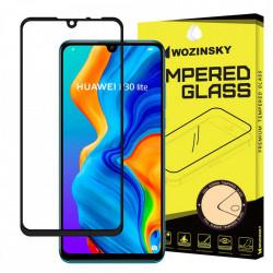 Folie protectie Wozinsky Full Glue Super Tough Screen Protector Full Coveraged with Frame Case Friendly pentru Huawei P30 Lite black
