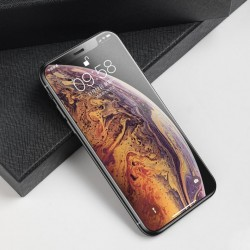 Folie sticla mata 3D Baseus Rigid-edge 0.3 mm pentru Apple iPhone XI 6.5 / iPhone XS Max black