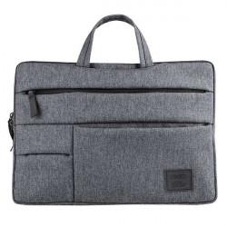 """Geanta UNIQ Cavalier pentru laptop 15"""" - gri"""