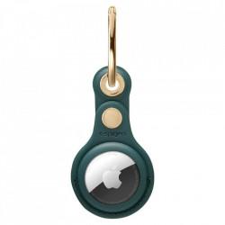 Husa pentru Apple Airtag SPIGEN VALENTINUS MIDNIGHT GREEN