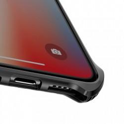 Husa protectie cu gauri pentru ventilatie, Baseus Cold Front, pentru iPhone XR, transparent