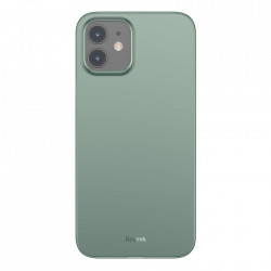 Husa telefon Baseus Wing Case Ultrathin iPhone 12 mini Green (WIAPIPH54N-06)