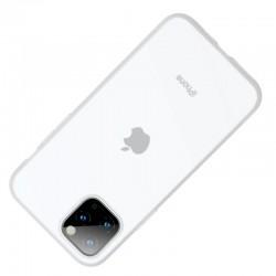 Husa telefon din gel Baseus Jelly pentru iPhone 11 alb transparent