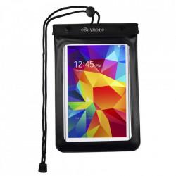 "Husa universala impermeabila pentru telefon/tableta, max 8"" - negru"