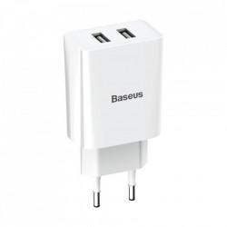 Încărcător Baseus Speed Mini Dual U 10.5W , alb