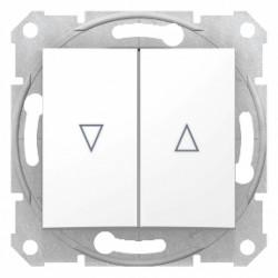 Intrerupator dublu cu revenire pentru jaluzele Schneider SDN1300121 - 1 modul