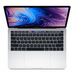 """MacBook Pro 13"""" Touch Bar, 256GB SSD, Procesor 1.4GHz Quad-Core, Silver, INT RO - MUHR2"""