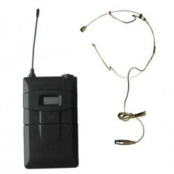 Microfon Wireless pe UHF DSPPA DSP6626B, Frecventa automata pe infrarosu,