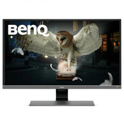 """Monitor LED VA Benq 31.5"""", 4K UHD, DisplayPort, USB Type-C, FreeSync, Vesa, Argintiu"""