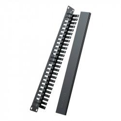 Organizator de cablu Ethernet UGREEN NW128 pentru dulapuri cu raft de 19 '', 24 porturi