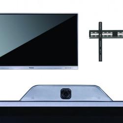 Pachet display interactiv DONVIEW DS-65IWMS-L05A cu suport de perete si camera videoconferinta