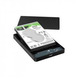 "Rack Hard drive Orico HDD 2,5"" USB type C 3.1 + USB 3.0 + cablu 50cm"