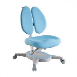 Scaun de studiu ergonomic pentru copii reglabil in inaltime si adancime Ergok FRIDA, Albastru