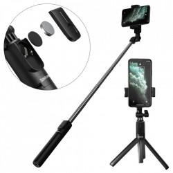 Selfie stick telescopic cu telecomanda si functie stand Baseus black (SUDYZP-F01)