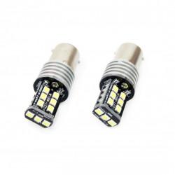 Set 2 x LED CANBUS 15SMD 2835 7,5W 1156 (P21W) White 12V/24V