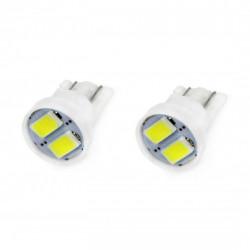 Set 2 x LED CLASSIC T10 W5W 2xSMD 5730 12V