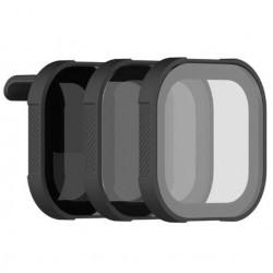 Set de 3 filtre PolarPro Shutter pentru GoPro Hero 8 Black