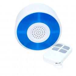 Sirena RF SmartWise (compatibila Sonoff si eWeLink) cu telecomanda
