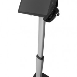 Stand de podea pentru tablete Blackmount LCD-S04+ Suport VESA Blackmount PAD29-01+Adaptor BM JJ90, Securizat