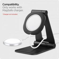 "Stand pentru incarcator Apple MagSafe Spigen Magfit ""S"" Black"