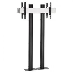 Stand TV Vogels Back to Back pentru display-uri mai mari de 65'', baza cu prindere in podea, max. 160kgr/pcs