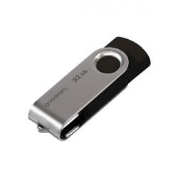 Stick USB Goodram pendrive 32 GB USB 2.0 20 MB/s (rd) - 5 MB/s (wr) flash drive black (UTS2-0640K0R11)