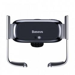 Suport auto cu prindere electrica a telefonului , Baseus mini black (SUHW01-01)