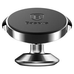 Suport Auto Premium cu banda autoadeziva , Baseus Small Ears , Magnetic , Negru