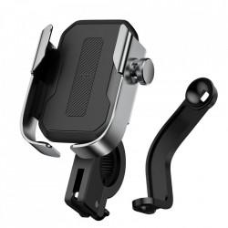 Suport Baseus de telefon pentru bicicleta/motor - gri