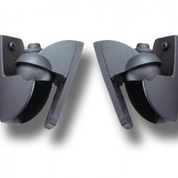Suport de perete pentru boxe Vogel's,VLB500/50 twinpack(2buc), negru