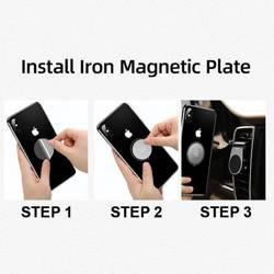 Suport magnetic pentru grila de ventilatie USAMS negru