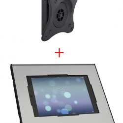 Suport tableta de perete cu Multibrackets 3497 si Vogel's PTS2010, securizat, rotabil in jurul axului 360 grade