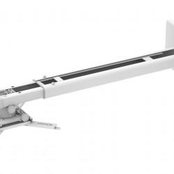 Suport videoproiector de perete Blackmount CT-PRB-11L, distanta perete-proiector 1100-1500mm, max.10kg, alb