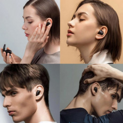 XIAOMI Casti Wireless Bluetooth Mi True Basic 2 In Ear, Microfon, Control Tactil, Negru
