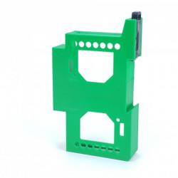 Adaptor cu sina DIN dublu pentru Shelly Dimmer si Shelly Dimmer 2