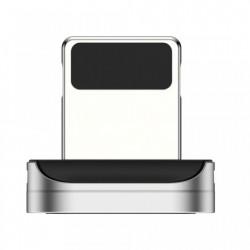 Adaptor din zinc pentru cablu magnetic Lightning , Baseus, negru (CALXC-E)