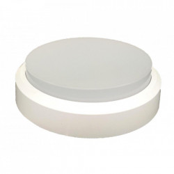 Aplica LED bat de exterior IP44 Rotunda Fi190, 12W=75W, 6400K, lumina rece