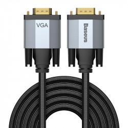 Baseus cablu adaptor bidirecțional 3m Enjoyment Series VGA la VGA
