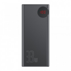 Baterie externa Baseus Mulight Power Bank 30000 mAh with Display Power Delivery PD3.0 Quick Charge QC3.0 33W black (PPMY-01)