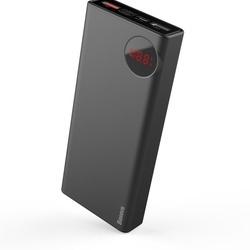 Baterie externa/Power bank 20000 mAh , Baseus Mulight cu display putere si voltmetru , compatibil cu Apple Macbook , PD3.0 QC3.0 , negru