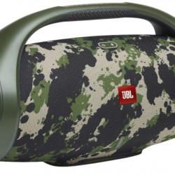 Boxa portabila JBL Boombox 2, Bluetooth, Redare 24H, Rezistenta la apa IPX7, Partyboost, Powerbank, Camuflaj