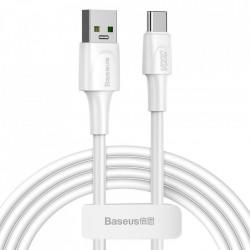 Cablu Baseus USB - USB Type C , VOOC Quick Charge 3.0 5 A 2 m white (CATSW-G02)